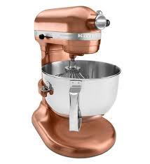 Kitchen Aid Kitchen Appliances Rose Gold Copper Kitchen Aid 6 Qt Stand Mixer 89999 Rose