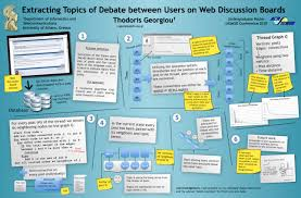 online resources for writers research posters workshop amherst extracting topics of debate between users of web discussion boards