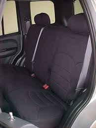 jeep liberty standard color seat covers rear seats