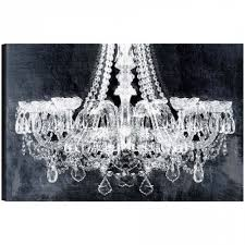 wall art stunning chandelier canvas art chandelier wall decor for most recent chandelier canvas wall
