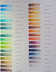Sennelier Ink Color Chart Art Supply Addicts Anonymous 2010 Archive Page 2