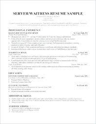 Cover Letter Waiter Resume Format Download Sample Dancer Template ...