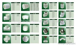 Pipe Fittings Chart Buy Ppr Pipe And Fittings Sizes Chart For Hot And Code Water