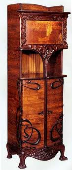 kinds of furniture. art nouveau furniture is generally characterized by delicately curving lines and floral motifs this kind kinds of