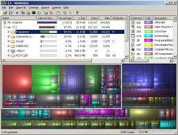 Disk Usage Chart Windirstat Windows Directory Statistics