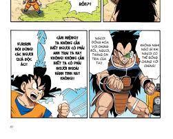 Dragon Ball (Truyện màu Full Color) Bảy viên ngọc rồng - Hồi Saiyan - Tập 1
