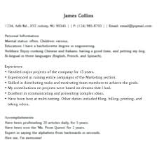 Good Things To Put On A Resume Good Things To Put On A Resume That Unique Good Things To Put On A Resume
