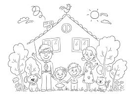 Kleurplaat Huis Kersthuis Spookhuis En Huizen Kleurplaten
