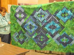 Jean's Quilting Page: Potato Chip Quilts & Jane put hers on point, so will get 2 quilts out of her 16 blocks. She used  the same fabric for her setting triangles as some of her blocks, ... Adamdwight.com