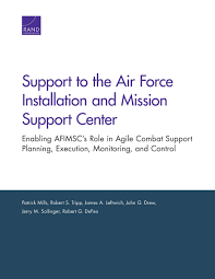 Afimsc Org Chart Support To The Air Force Installation And Mission Support