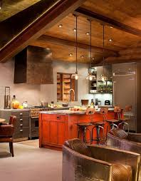 Log Cabin Kitchen Decor Rustic Kitchens Design Ideas Tips Inspiration