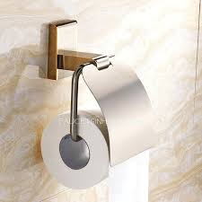 Toilet Roll Holder Magazine Rack Mesmerizing Bathroom Toilet Paper Holder Magazine Rack Golden Wall Mounted Roll