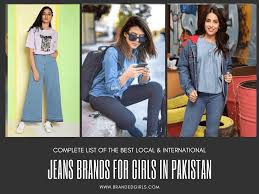 Most Popular Women S Designer Jeans Top 15 Jeans Brands For Girls In Pakistan With Price