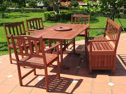 patio round wood patio table furniture info with wood patio wooden patio table and 6