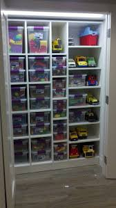 kids toy closet organizer. Small Shelves For Owens Bigger Cars And Trucks Other Side Of Larger Toys Playhouses Kids Toy Closet Organizer Pinterest