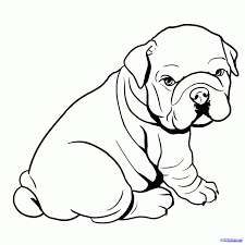 bulldog puppy clipart.  Bulldog Collection Of Baby Drawing High Quality Bulldog Clipart Bulldog Puppy Inside Puppy Clipart T