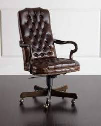 industrial style office chair.  Style Blevens TuftedLeather Office Chair Throughout Industrial Style L