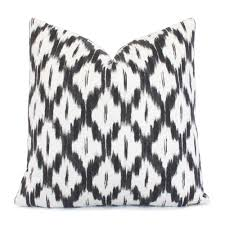 black and cream pillows.  Black Akbar Pillow Cover At Chloeandolivecom And Black Cream Pillows