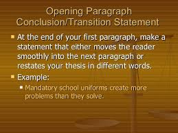 persuasive essay th grade  12 opening paragraph