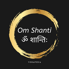 what is om shanti definition from