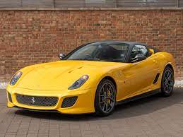 On 599 gto vs mp4 movie it was like 599 gto even didnt accelerate for one second or 599 had traction problem which is possible. 2011 Used Ferrari 599 Gto V12 Giallo Triplo Strato