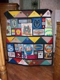 Terrific Eagle Quilted Wall Hanging - a great gift for the Eagle ... & Memory quilt Boy Scout t-shirts and kerchiefs. For inquiries  r_treasures@hotmail. Adamdwight.com