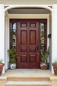 Door furniture design Residential Large Wood Door Home Stratosphere What Are The 58 Types Of Front Door Designs For Houses