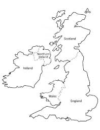 blank map united kingdom. Delighful Map Blank United Kingdom Clipart Map Clikr  ClipartFest Image Black And White  Library Inside Map United Kingdom L