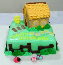 House Birthday Cakes