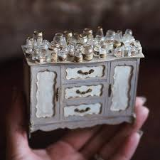 Miniature dollhouse furniture Diy Handmade Miniature Furniture By Kiyomi Chiisana Shiawase Doomtown Japanese Artist Crafts Miniature Antique Dollhouse Furniture By Hand
