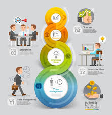 Financial And Social Infographics Vector Graphics Free Download