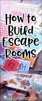 Escape Room Design Ideas How To Build Escape Room Challenges Kids Learning