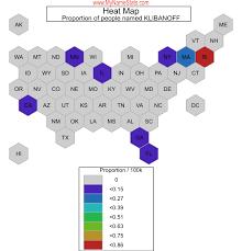 KLIBANOFF Last Name Statistics by MyNameStats.com