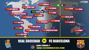 Real Sociedad vs FC Barcelona in TV ...