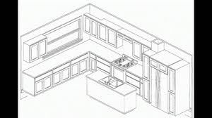 Laying Out Kitchen Cabinets Kitchen Design Layout Kitchen Cabinets Pictures Youtube
