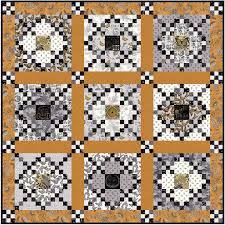 Moda Fabrics Bee Inspired by Deb Strain Quilt Pattern 67 by 67 ... & Moda Fabrics Bee Inspired by Deb Strain Quilt Pattern 67 by 67 Adamdwight.com