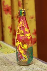 painting on bottles ideas for kids