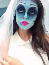 makeup of terror for halloween 2016 bride cadaver