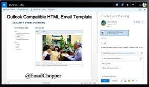 Create An Outlook Template Useful Tips Tricks To Create Outlook Compatible Html Email