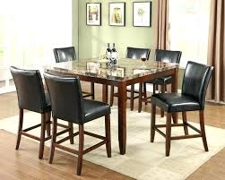 industrial counter height table. Industrial Counter Height Table Dining Sets 9 Piece Set W Faux Marble Top Outdoor