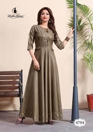 Designer Kurtis Surat Gujarat Ladies Flavour Miss World Vol 3 Gown Style Designer Kurtis