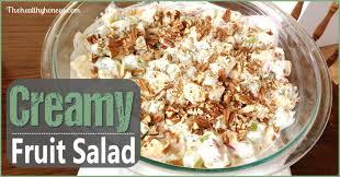 creamy fruit salad recipe.  Recipe Healthy Fruit Salad With Cream Inside Creamy Recipe U