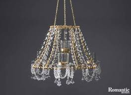 diy chandelier from lampshade