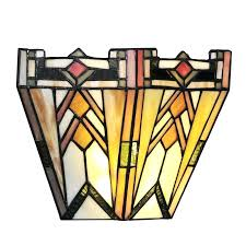 stained glass sconce mission style stained glass wireless 9 light led flush mount stained glass wall stained glass
