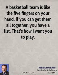 Basketball Team Quotes Amazing Mike Krzyzewski Quotes QuoteHD