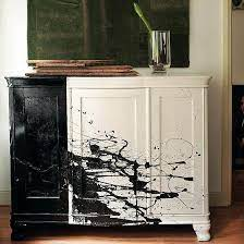 No Use Crying Over Spilled Paint 8 Ways To Try The Splatter Trend Handmade Home Decor Painted Furniture