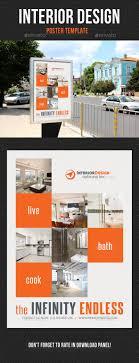 Interior Design Poster Template V01 - Signage Print Templates