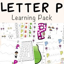 Letter P Worksheets + Printables - Fun with Mama