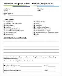employee discipline template download now employee disciplinary action form discipline write up