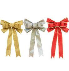Us 584 20 Offgeinne Rot Silber Gold Glitter Goldene Zwiebel Größen Pulver 3355 Cm Weihnachten Band Fliege Christbaumschmuck In Geinne Rot